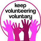 keep volunteering voluntary