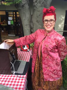 Apple Day wouldn't be Apple Day without E17 DJ Auntie Maureen