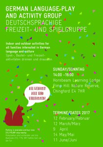 German Playgroup Flyer