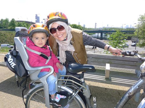 Hornbeam JoyRiders bike rides are wonderful for all the family.