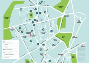 Green Open Homes map 2017 - pick up a paper map at The Hornbeam, libraries or venues around the borough.