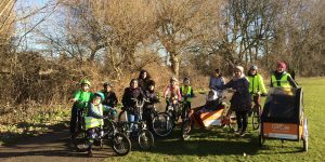 Hornbeam JoyRiders out and about