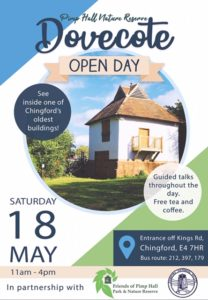 Dovecote opening day poster